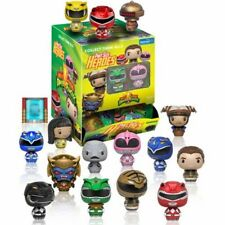 Exclusivos packs 24 Sellado Walmart Mighty Morphin Power Rangers pinta tamaño Héroes