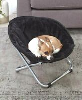 Foldable Furry Indoor Outdoor Pet Bed Dog Cat Smaller Breeds Chair in 6 Colors
