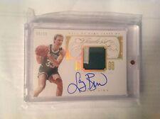 Autograph Panini Larry Bird Original Basketball Cards