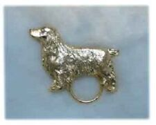 Field Spaniel Nickel Silver Eye Glass Holder Pin Jewelry Last One!
