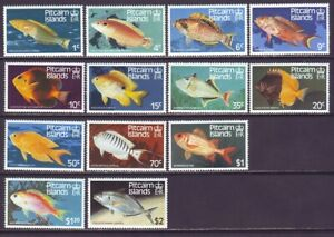 Pitcairn Islands 1984 SC 231-243 MNH Set Fish