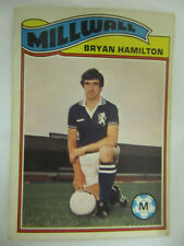 Bryan Hamilton - Millwall (Topps Football Cards 1978/79 - Orange Back)
