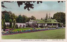 Butchart Residence VICTORIA British Columbia Canada Spalding Real Photo PC 3