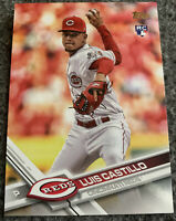 Luis Castillo 2017 Topps Update RC #US139 Rookie Card REDS HOT!