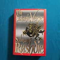 The Satanic Verses By Salmon Rushdie, First Edition/1st Printing Hardcover 1989