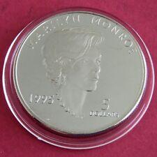 MARSHALL ISLANDS 1995 MARILYN MONROE PROOFLIKE $5