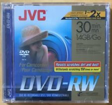 JVC DVD-RW 30 MINUTE CAMCORDER DVD NEW AND SEALED VD-W14DU