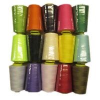 Sewing Machine Thread / Overlocker Thread Polyester 5000 x 4 REELS Grade 1