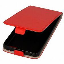 Funda de protección para móvil LG G4S / BEAT Rojo Imitación Cuero Ligera FLEX