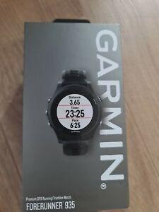 Garmin Forerunner 935 GPS Triathlon Multisport Running Wrist HR Watch - Black/G…