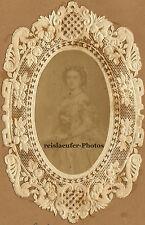 """""""Kaiserin Friedrich"""" als Braut, Orig-Salzpapier v. 1857"""