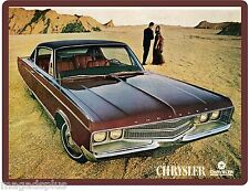 1968 Chrysler New Yorker  Car Auto Refrigerator / Tool Box Magnet Gift Item