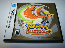 Pokemon Heartgold Version (Nintendo DS) Lite DSi XL 3DS 2DS w/Case & Manual