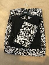 Coast Dress And Bag Black And Cream Size 10