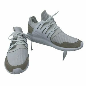 Adidas Tubular Radial White Sneakers Men's Size 13 Casual Athletic Fashion Shoes