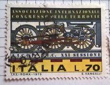 Italy stamps - Congresso delle Ferrovie (Intern. Railway Congress) - FREE P & P