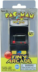 Tiny Arcade Pac-Man Brand New Sealed In Pack Smallest Coolest Keychain