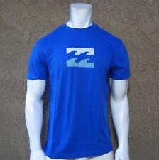 New Billabong Surf Crew Blue Logo Mens S/S Premium T Shirt RBBL-19