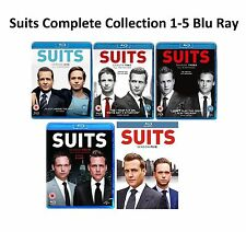 Suits Suites Complete Collection Series 1-5 Blu Ray Season 1 2 3 4 5 UK Rel New