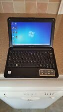 "Samsung N130 Black Netbook Laptop 10.1"" 1GB 160GB Genuine Windows 7 Open Office"