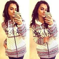 PLUS SIZE Women Ladies  Sweater Pullover Top Hoody Sweatshirt Jumper Coat