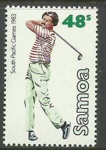SAMOA 1983 SOUTH PACIFIC GAMES Single GOLF 1 Value MNH