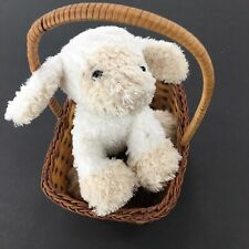 Easter Basket With Ganz Lamb Plushy
