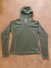 Mountain Hard Wear Stretch Microfiber Hoody Shirt - Women's XL - Pine Green