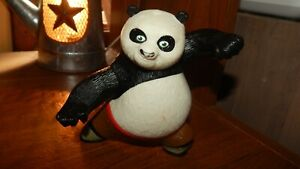 DreamWorks Kung Fu Panda Po Fighting Figure McDonalds Happy Meal Toy No Sounds