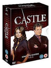 Castle: Complete Series - SEASONS 1-3 (DVD Box Set) Excellent condition