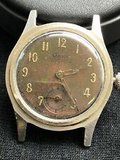 Vintage Military Genie Watch Stainless Steel Waterproof