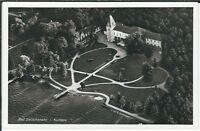 Ansichtskarte Bad Zwischenahn - Luftbild Kurhaus mit Park und Teich schwarz/weiß