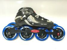 Inline speed skate. Unique skate frame for that size foot. Size 7.5 110mm/100mm