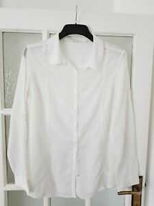 WHITE STUFF  long sleeve  embroidered shirt/blouse  size 14