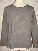 WOMENS TOAD & CO DOWNTOWN LS TEE SHIRT SIZE LARGE CHARCOAL HEATHER NWT $62