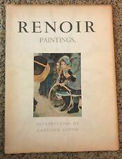 Renoir Paintings - 1947 Portfolio