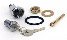 NEW 1964 - 1965 - 1966 Ford Mustang Lock Set Trunk Bezel, Keys, Gasket, Nut