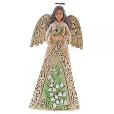 Jim Shore Heartwood Creek Birthstone Angel June Boxed 6001567
