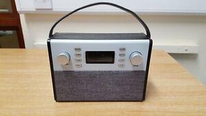 FM DAB Digital Radio - Grey