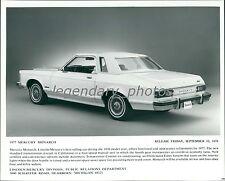 1976 Mercury 1977 Monarch Original News Service Photo