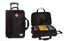 Bestway Rollenreisetasche Reisetasche Koffer schwarz/grau kariert Teleskop 52729