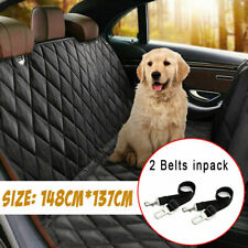 More details for large waterproof dog car seat cover pet boot liner protector rear back hammocks