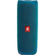 JBL Flip 5 Portable Waterproof Bluetooth Speaker Eco Blue - 90% Recycled Plastic
