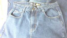 SOUTH POLE RN82628 MEN'S BLUE DENIM STRAIGHT LEG FIT JEANS SIZE 34 X 32