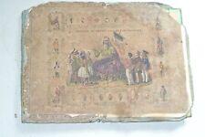 jeu ancien : histoire de france en jeu de patience fin 1800 ( style saussine )