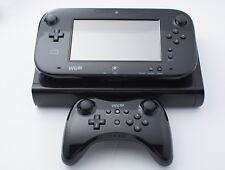Nintendo Wii U Deluxe 32GB Black Handheld System W/ Pro Controller & Zelda BOTW