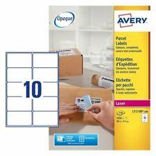 BNIB Avery BlockOut Opaque Parcel Labels L7173B
