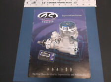 VINTAGE O.S. SMALL ENGINES FOR HOBBY CATALOG  ENGINES AND ACCESSORIES *G-COND*