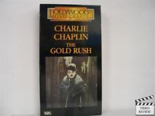The Gold Rush (Vhs) Charlie Chaplin 1985
