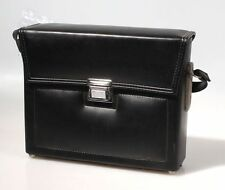 VINTAGE SEMI HARD BLACK CAMERA CASE (11 X 3 X 8.5)